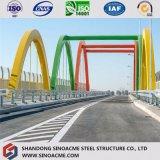 Bâti en acier lourd de passerelle de qualité pour le transport avec des matériaux de qualité