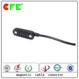 磁気ケーブルコネクタが付いている4pin USB