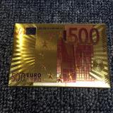 [24ك] [غلد فويل] يورو [بلي كرد] بلاستيكيّة