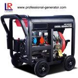 Resfriado a ar 5KW gerador diesel portátil