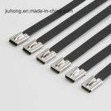De Band van de Kabel van het Roestvrij staal van de Ritssluiting van de draad