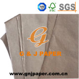 Chemischer Halbstoff-Industrie-Braunes Packpapier für die Verpackung im Blatt