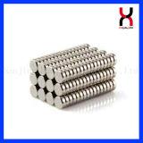 Magnete rotondo permanente del disco zinco/del nichel per i mestieri (D15*2mm)