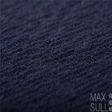 Tissu mélangé de laines de /Cotton /Acrylic de laines pour la saison d'automne dans le bleu marine
