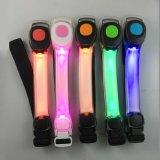 反射安全点滅LED腕章を揺する熱い販売夜