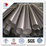 Tubulação de aço inoxidável laminada a alta temperatura da polegada Sch40s de A182 304L 8
