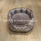 Bases usadas dobro luxuosas do sofá do cão do fundamento do animal de estimação da fonte do animal de estimação da forma
