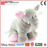 고품질 물자 연약한 박제 동물 견면 벨벳 코끼리 장난감