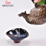 Rétro et seule forme de beauté de Teapot/a en céramique
