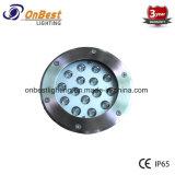 LED de alta calidad de luz LED 9W luz subterránea en IP67