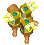 De Klep van de solenoïde voor Wasmachine