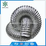 Tuyau flexible en aluminium à couche unique pour systèmes et pièces CVCA
