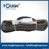Fibra 100% resistente de Uhwmpe da corda da corda sintética cinzenta do guincho da cor 10.5mmx28m4X4