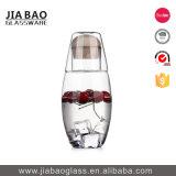 frasco bebendo do vidro de Borosilicate 530ml com anel do silicone