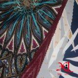 Tecido de chiffon de seda de impressão digital para vestido / Hijab