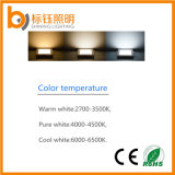 온난하거나 순수하고 또는 차가운 백색 호리호리한 천장 매우 얇은 6W LED 위원회 램프 빛