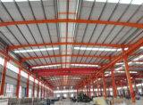 Costruzione fabbricata dell'acciaio per costruzioni edili di Q235 Q345b per la fabbrica del gruppo di lavoro del magazzino