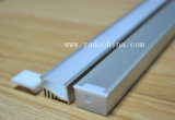 Linéaire avec le profil en aluminium du diffuseur DEL pour la bande de DEL
