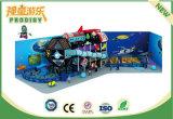 Спортивная площадка чудесного замока детей пластичная напольная с темой технологии