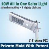 IP 65 integrieren LED-Solarstraßenlaterne-Hof-Licht