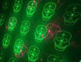 Rg que move o laser do jardim do teste padrão de Halloween doze