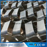 De Vierkante Rol Pipe&Tube Od9.5X1.0 van het Roestvrij staal van China Ss304 van de fabrikant voor Spiraalvormige Warmtewisselaar
