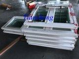 Kundenspezifisches Puder-überzogenes Aluminiumflügelfenster-Fenster mit der Doppelverglasung