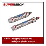 Do mini cm2 modelo padrão do cilindro SMC do ar do aço inoxidável