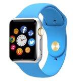 Podómetro reloj de pulsera Bluetooth inteligente reloj del deporte con la cámara SIM
