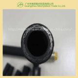 Fil d'acier recouvert de caoutchouc renforcé par une tresse le flexible hydraulique (SAE100 R2-3/4)