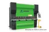 We67k 160t/3200 전동 유압 이중 자동 귀환 제어 장치 동시 CNC 구부리는 기계
