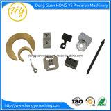 Peça da precisão do CNC, dispositivo elétrico e gabarito fazendo à máquina, peça de trituração da precisão do CNC