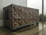 Casa prefabricada del color barato/prefabricada móvil de acero para la venta caliente