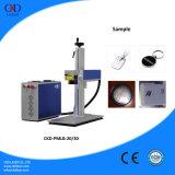 Bewegliche Faser-Laser-Markierungs-Maschine für Verkauf