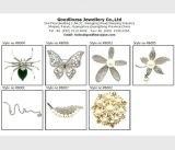 2017명의 최신 판매 여자의 형식 925 은 보석 색깔 돌 팔찌 (BT6661)