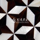 Frischwassershell-und Feder-Shell-Raute-Mosaik-Fliese
