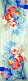 Neues Form Abstrct Muster-Silk Schale in länglichem