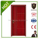 Puerta de madera interior clásica de la venta caliente suministrada por el chino