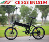 "Bicicleta plegable eléctrica de bolsillo de 20 ""con 36V 10.4ah Li-ion"