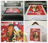 Kmbyc plana A3 de alta velocidad de la máquina T Shirt Impresión