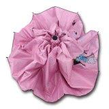 女の子のための顧客プリント3folding傘