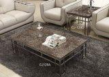 Mobilia superiore di marmo del salone del tavolino da salotto (CJ-129A CJ-129D)