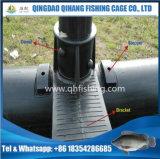 Piscicultura circular da gaiola do HDPE do equipamento da cultura aquática