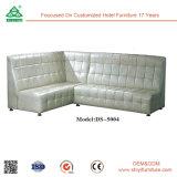 Sofà di cuoio di Morden KTV per il sofà d'angolo delle barre con il Recliner elettrico per la mobilia del ristorante