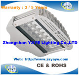 Yaye 18 Vente chaude 3/5 ans de garantie 126W LED Street Light / 112W LED Road Lamp / 112W LED Street Lighting avec Ce / RoHS