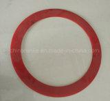 Distanziatori di plastica di rinforzo e lamierine rotative delle cesoie dell'anello di gomma