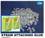 Grau alimentício cola termofusível quente de silicone para beber Anexo de palha de plástico