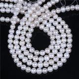Un grado de 8mm 9mm de agua dulce, hilo de perlas Perlas sueltas 16 pulgadas de largo