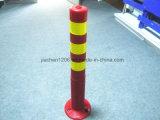 Оптовая фабрика Китая ограждая столб PU 750mm предупреждающий с хорошим качеством