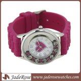 최신 다채로운 선물 시계, 선전용 실리콘 악대 합금 시계